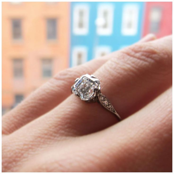 Vintage Tiffany & Co Engagement Ring Engagement Rings