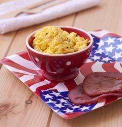 Petit déjeuner à l'américaine - Ôdélices