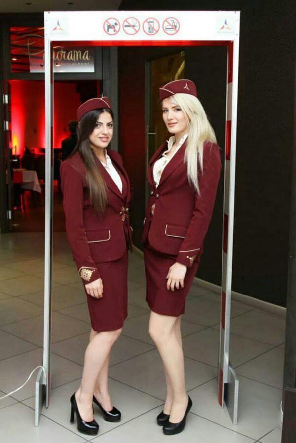 AIr Armenia cabin crew