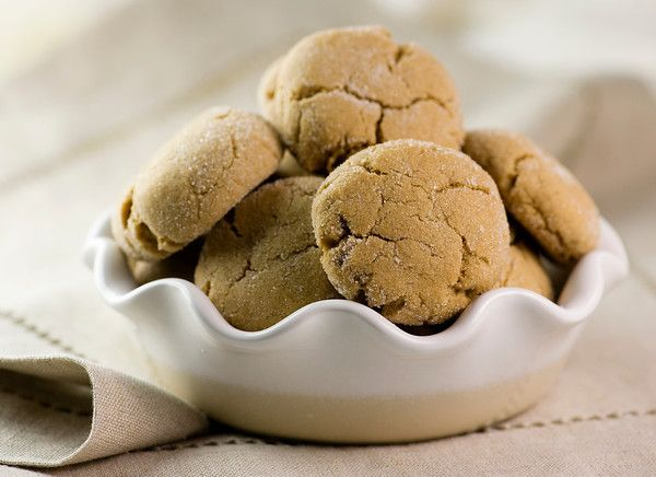 Brown Sugar Crinkle Cookies Recipe I love these at christmas