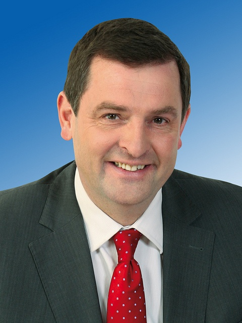 Shane McEntee former Fine Gael TD for Meath East. He is Minister of State for Food Safety and Forestry and Horticulture