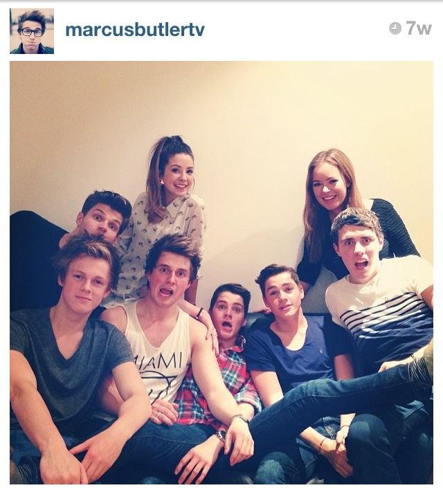 My favorite British YouTubers! All we need in the picture is @M Louise SprinkleofGlitter !!