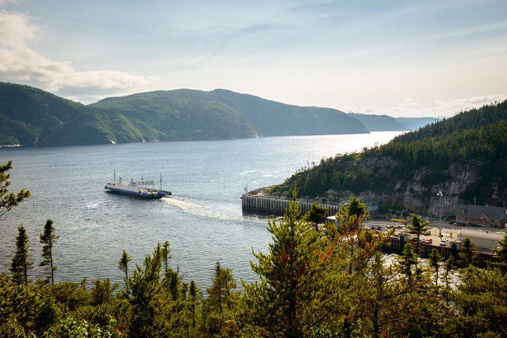 Traverse Tadoussac–Baie-Sainte-Catherine- Société des traversiers du Québec