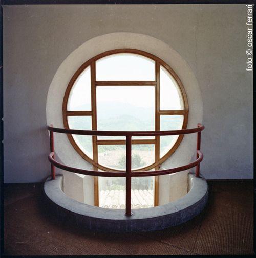 """Collegio Universitario """"Il Colle"""" di Urbino, progettato da Giancarlo De Carlo tra il 1962 e il 1966."""