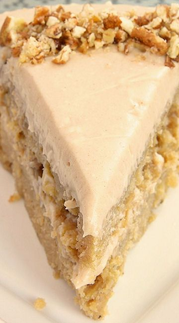 Apple Spice Cake with Cinnamon Cream Cheese Frosting~