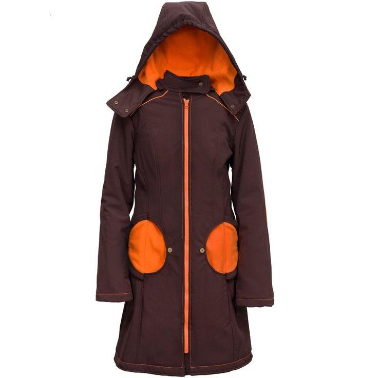 Liliputi® Babywearing Mama Coat Brown-orange | Liliputi baby shop