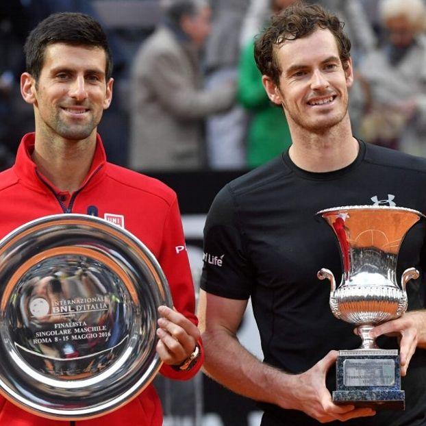 Andy #Murray re di Roma: Novak #Djokovic cede in finale