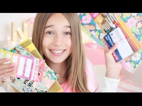 Schulsachen Haul I Back to school - YouTube