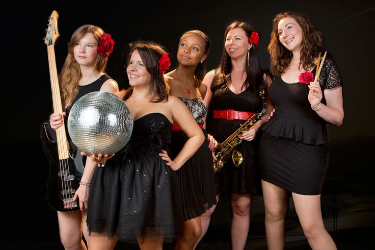City Soul - An eye catching band of young female musicians who keep the party going and the guests dancing all night with everything from motown & soul classics to current chart hits! #PartyBandForHire  #LiveWeddingBand