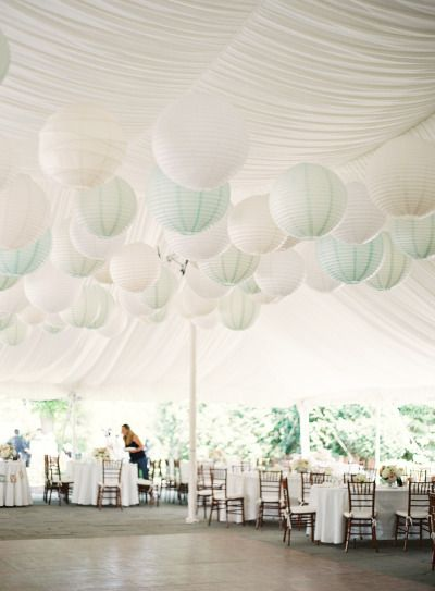 Papierballons Raumdeko