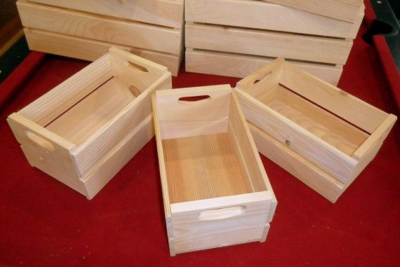 115 best toti box images on pinterest wood crates for Wooden fruit crates