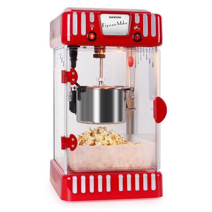 Klarstein Volcano -popcorn-kone 300 W ruostumaton teräs: Klikkaa suurentaaksesi kuvaa