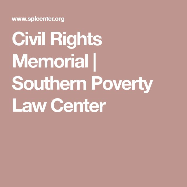 Civil Rights Memorial | Southern Poverty Law Center