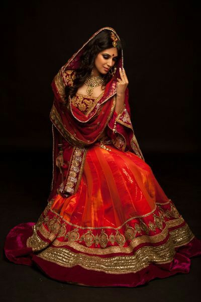 Brilliant #Lehenga for #Desi #Indian_Wedding Bride