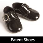 Boys, childrens shoes for weddings, page boys, proms and page boys, patent and leather