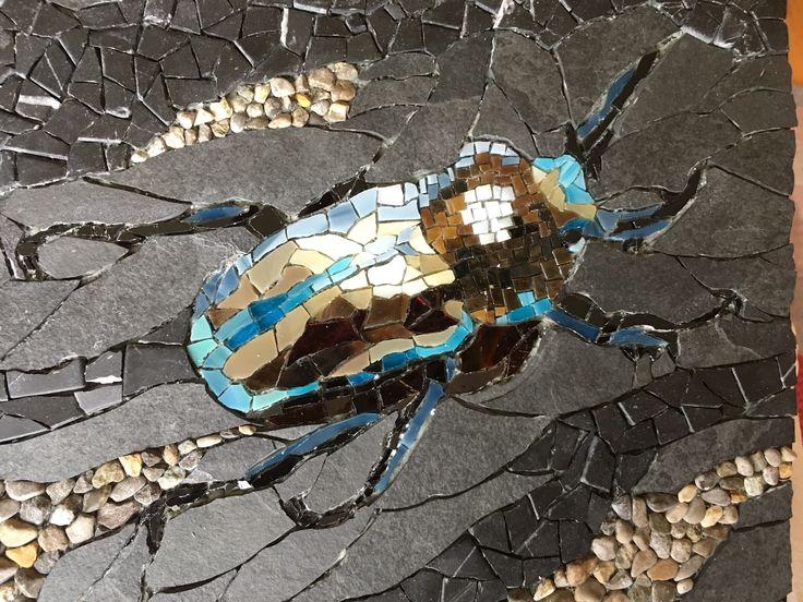 "Skarabäus - made for the mosaic auction "" Beyond Borders 2017"""