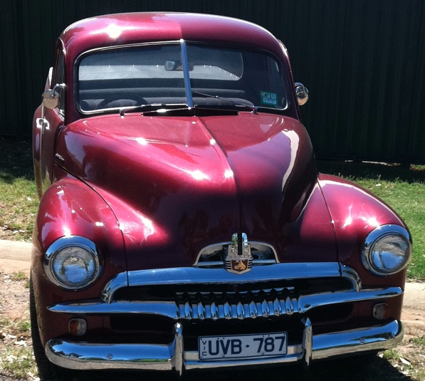 FJ Holden- just like great pa had!!