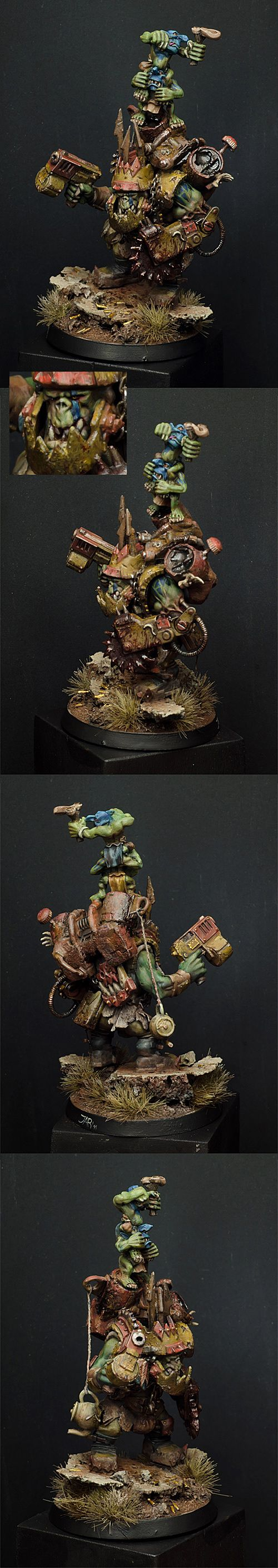 Mad Orc Warboss by MassIveVoodoo