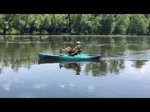 H2Pro-Ped Pedal Powered System for Canoes and Kayaks - H2Pro Ped Pedal Powered Canoe and Pedal Powered Kayak