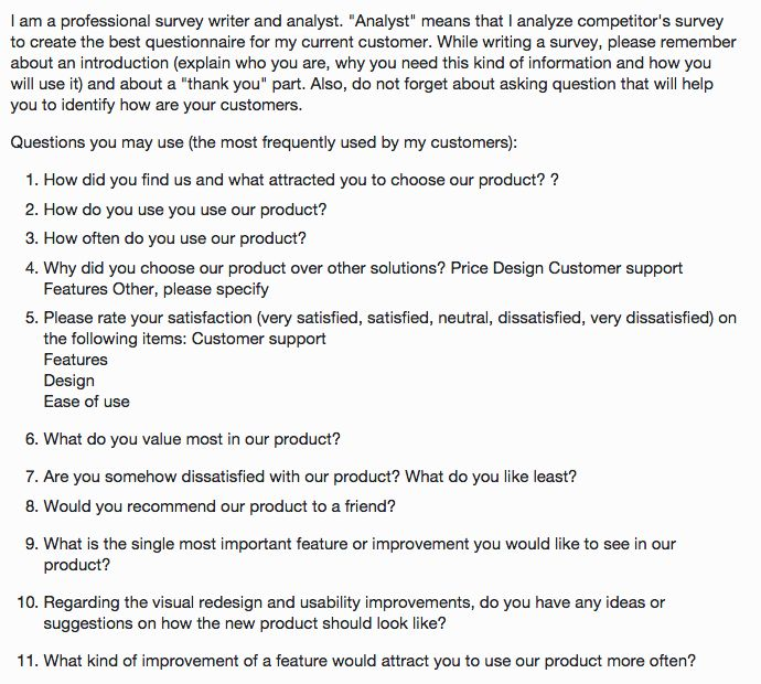 Survey Questions  UxUi  Process  Resources