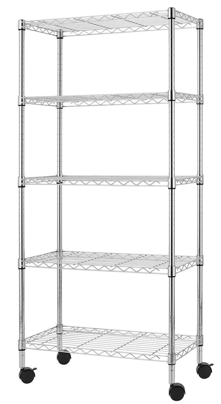 Best 18  Wire rack shelving ideas on Pinterest | Wire shelving ...