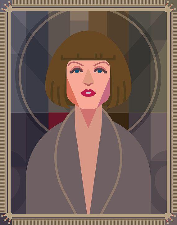 Maude Lebowski 11x14 poster