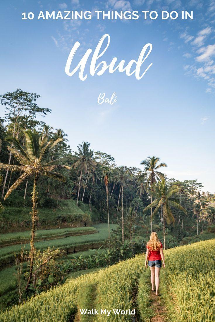 10 amazing things to do in ubud bali travel ubud asia travel bali rh pinterest com