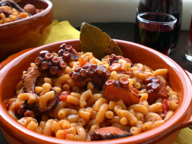 My Little Expat Kitchen: The Greek octopus