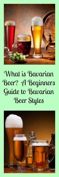 what is bavarian beer? A Beginners guide to Bavarian beer styles....