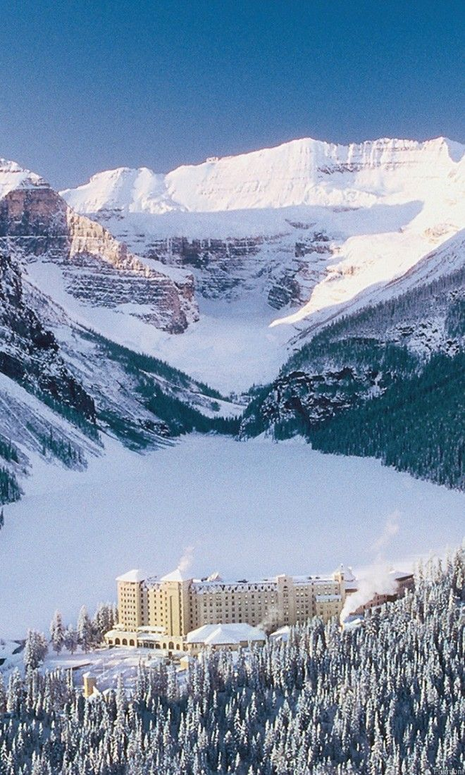 Reasons to Start Planning Your Alberta Winter Vacation With 4,200 acres of skiable terrain, the Lake Louise Ski Resort is arguably one of the most scenic ski areas on earth.