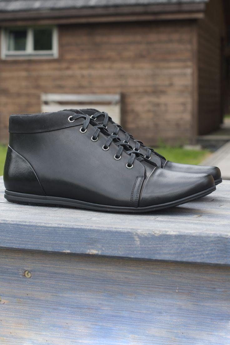 Trzewiki Meskie Skorzane Czarne Ken Sd2517 01 Dress Shoes Men Dress Shoes Men Dress