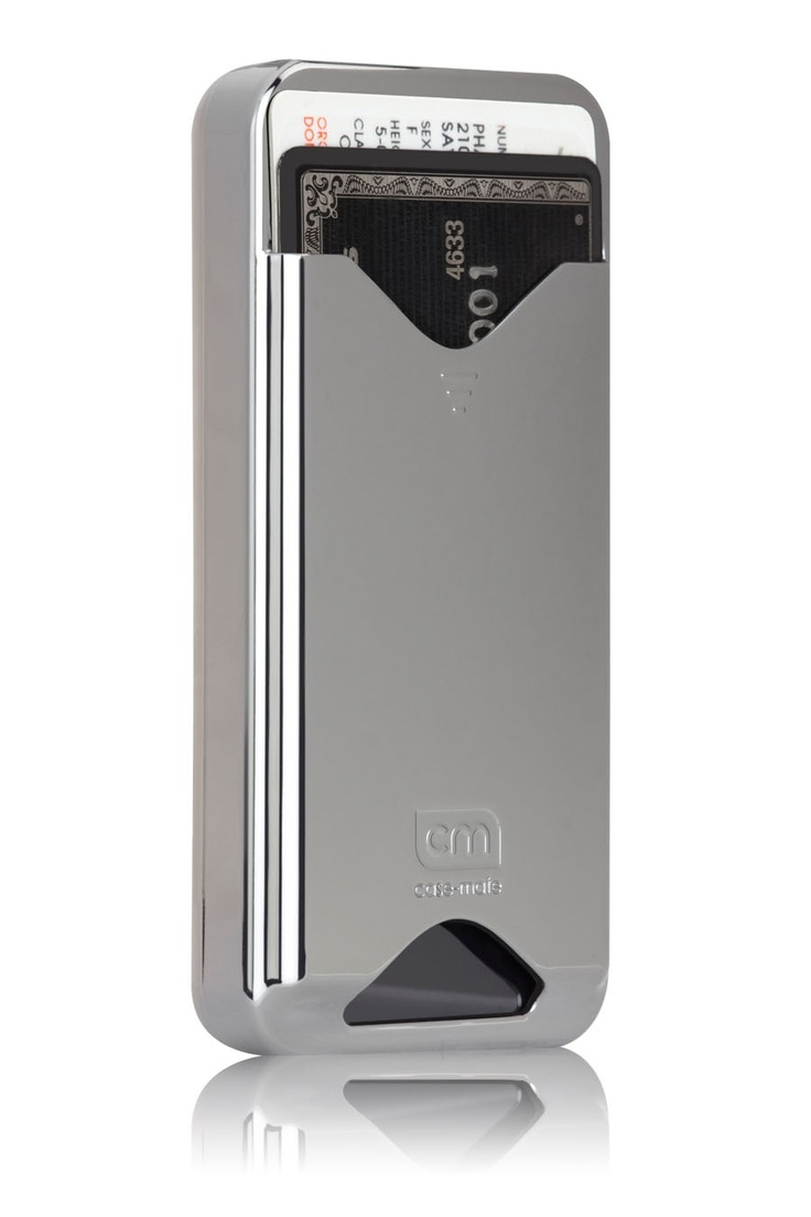 iPhone 4/4S Silver ID Case