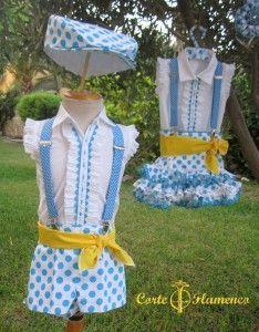 traje de gitano niño, traje de corto , traje de gitana niña, traje de gitanillo, traje de gitano de pantalon corto (6)