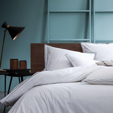 les 25 meilleures id es concernant housse de couette blanche sur pinterest couette blanche. Black Bedroom Furniture Sets. Home Design Ideas