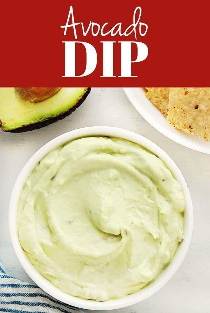 Avocado Dip Avocado Dip Dip Recipes Easy Food Processor Recipes