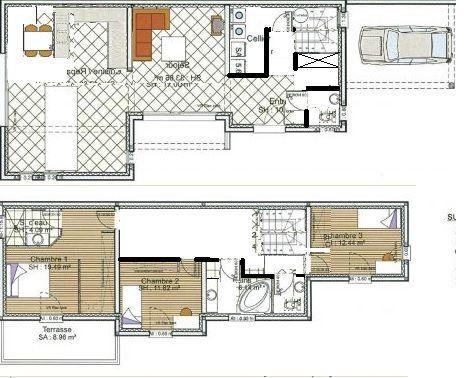 17 best images about plan maison on pinterest for Plan maison positive