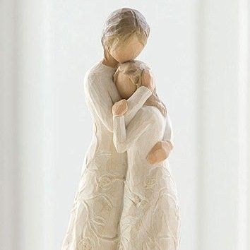 Willow Tree Figurines | Willow Tree, Mother Daughter:)