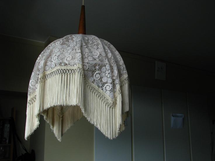 for my new lamp?: Vintage Lace, Antique Lace, Lace Lamps
