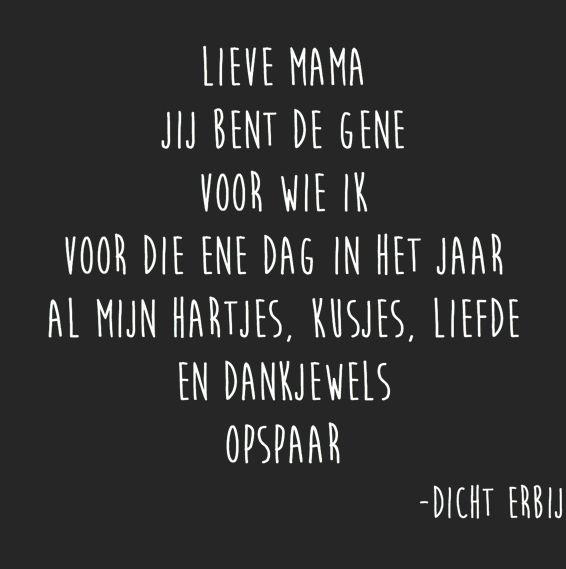 www.cadeautjes.nl #moederdag #quote #liefde