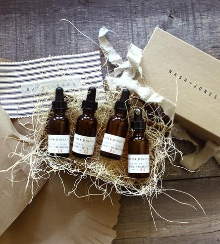 Shave & Beard Oil Gift Set by Nash + Jones on Scoutmob Shoppe