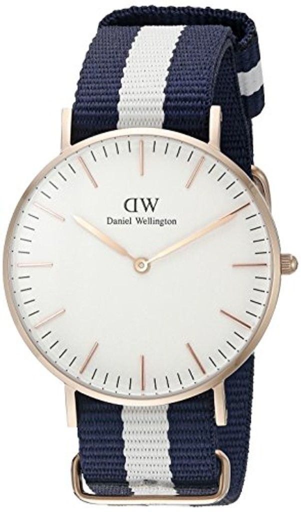 Daniel Wellington - 0503DW - Glasgow - Montre Mixte - Quartz Analogique - Cadran Rose - Bracelet Nylon Multicolore 2017 #2017, #Montresbracelet http://montre-luxe-homme.fr/daniel-wellington-0503dw-glasgow-montre-mixte-quartz-analogique-cadran-rose-bracelet-nylon-multicolore-2017/
