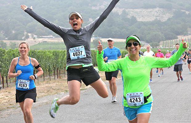 The 50 Best Half-Marathons in the U.S. - Napa to Sonoma Wine Country Half Marathon - Sonoma, CA