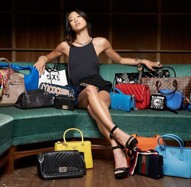 We love luxury bags