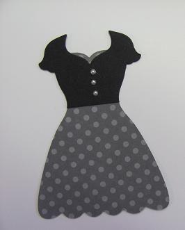 Lovely dress combo by Lynn using the Dress Up framelits.
