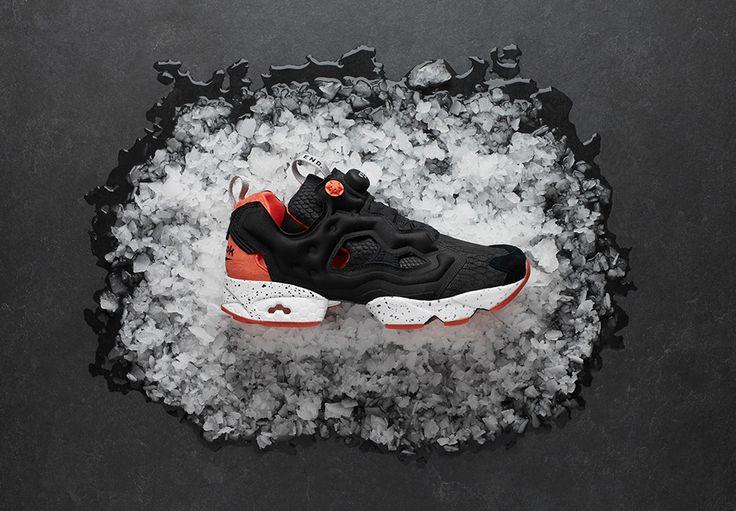 END Reebok Pump Fury Black Salmon Release Info | SneakerNews.com