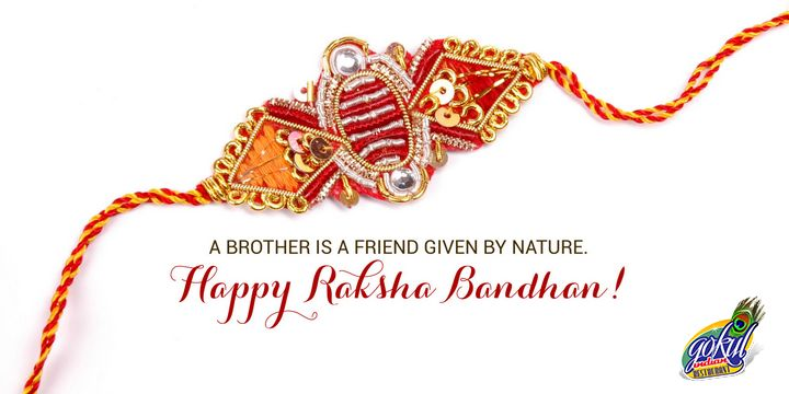 May this Raksha Bandhan bring you all the prosperity and good luck in your way of life.