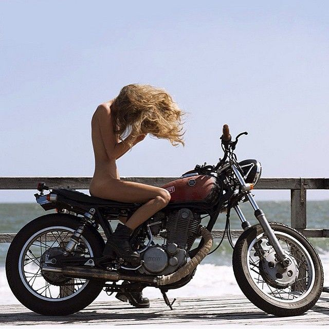 #Sexy #Girl & #Motorcycle