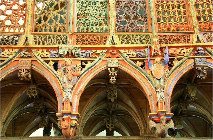 Le jubé de saint Fiacre - Le Faouet, Bretagne