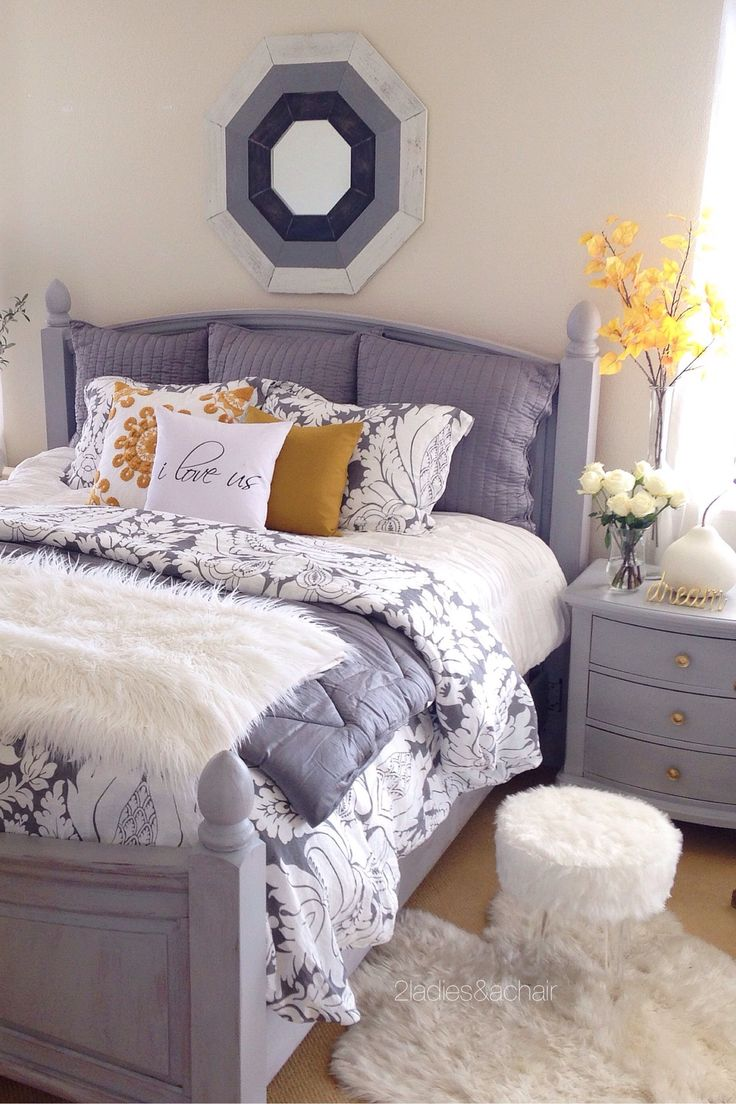 Stool but not sure of the bed do you like it too 2 princess bedroom - I Love Adding Seasonal Touches To My Bedroom Decor I Keep It Simple With A