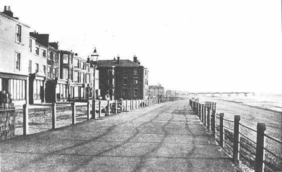 Central Promenade Blackpool 1867 25 years before the Tower was built